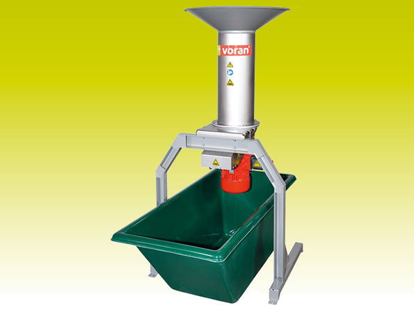 Centrifugal mill RM1,5 with mash trough 200l