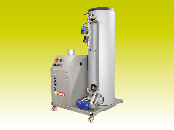 Pasteurizer PA400LC Oil with tube heat exchanger