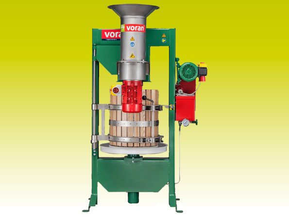 Basket press 60K with centrifugal mill RM1,5