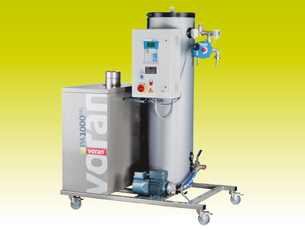Pasteurizer PA1000 Oil with tube heat exchanger