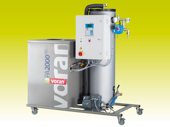 Pasteurizer PA2000 Oil with tube heat exchanger