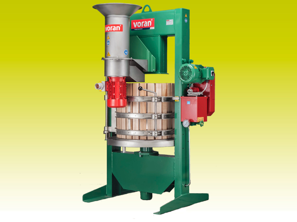 Basket press 100K with centrifugal mill RM1,5