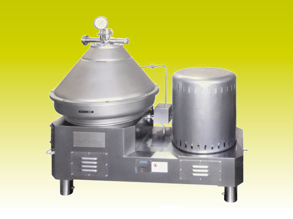 Self-emptying centrifuge CA 21-P