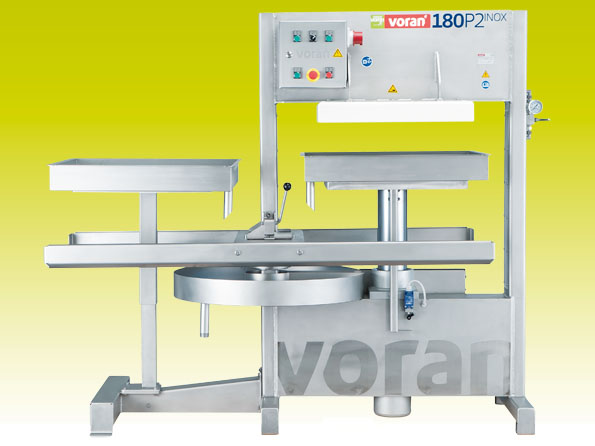 Packing press 180P2 Inox with lift/lower device