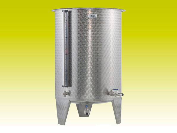 Stainless steel tank 530l