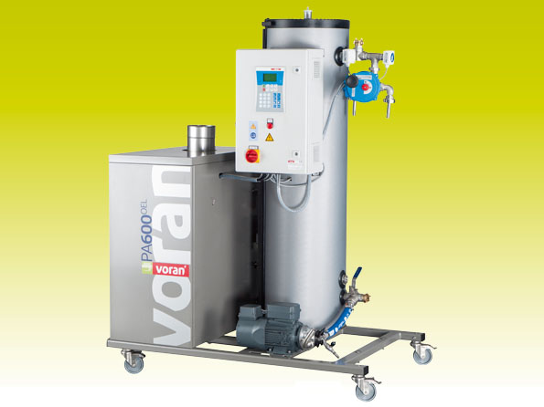 Pasteurizer PA600 Oil with tube heat exchanger