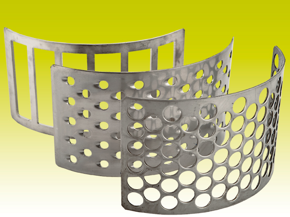 Screens for centrifugal mill RM2,2